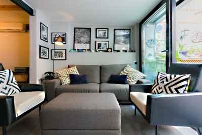 Просторная квартира с индивидуальным дизайном